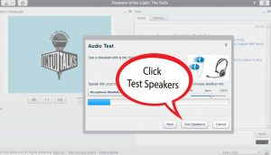 test speakers